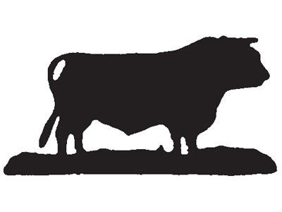 400x300 Bull Silhouette
