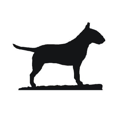 422x421 English Bull Terrier Glassware Gifts