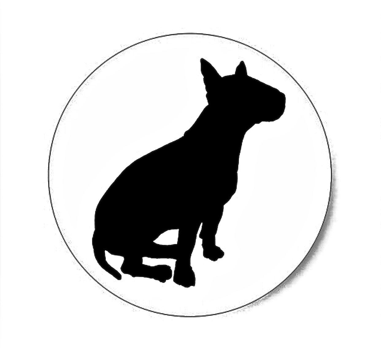 1242x1134 Bull Terrier Silhouette Animals And Horses Bull