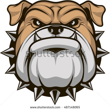 450x451 Bulldog Face Clipart 101 Clip Art