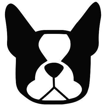 360x360 French Bulldog Clipart Silhouette 3549427