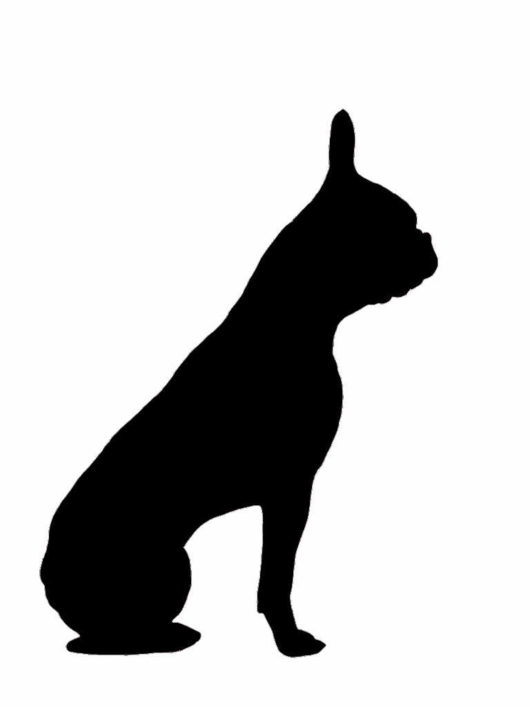 768x1024 A Silhouette I Made Of Alfie. Silhouette, Stenciling And Template