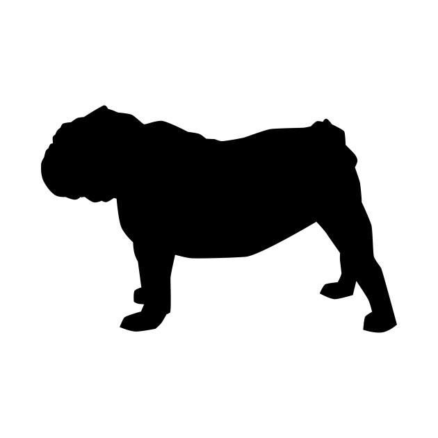 630x630 Bulldog Silhouette