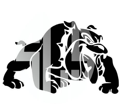 465x428 Bulldog Silhouette Svg Dxf Pdf Jpg Jpeg Vector Graphic Design