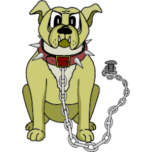 300x300 Bulldog On Chain Clipart, Cliparts Of Bulldog On Chain Free