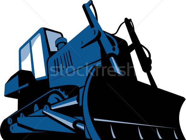 600x451 Bulldozer Stock Vectors, Illustrations And Cliparts Stockfresh