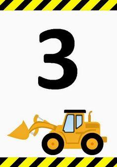 236x338 Construction Vehicles, Dump Truck, Bulldozer, Excavator, Boy