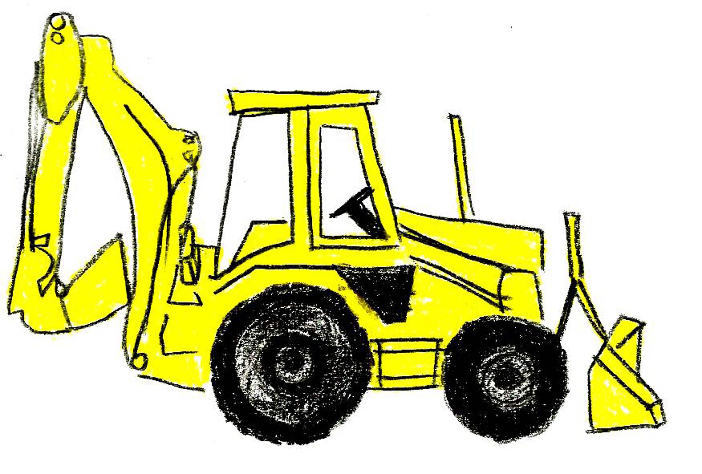 Bulldozer Silhouette Vector at GetDrawings   Free download