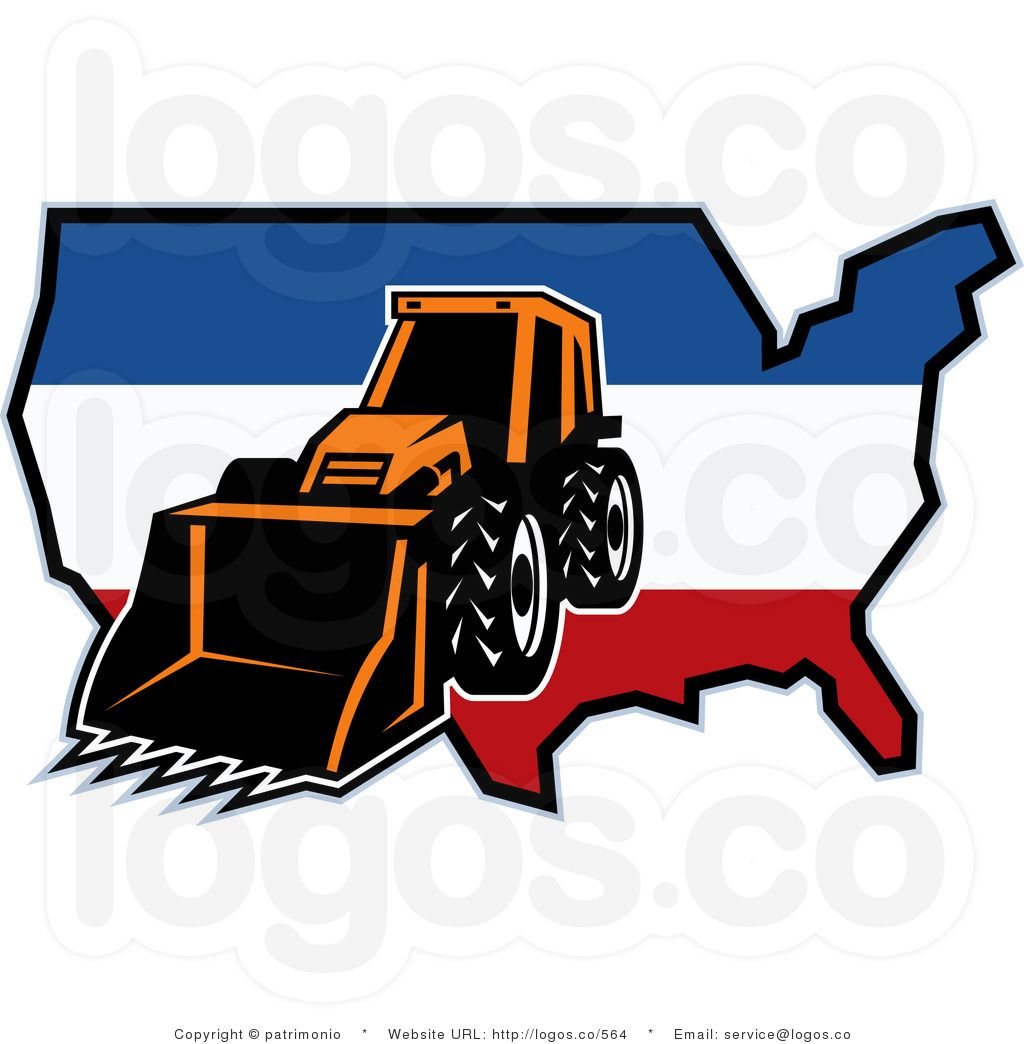 1024x1044 Bulldozer Clip Art Royalty Free Vector Logo Of A Bulldozer
