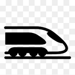 260x261 Silhouette Of High Speed Rail, Silhouette, Train, Bullet Train Png