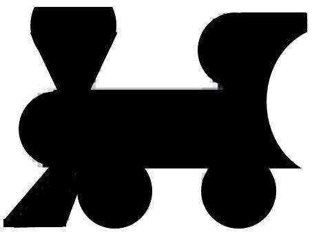 Bullet Train Silhouette