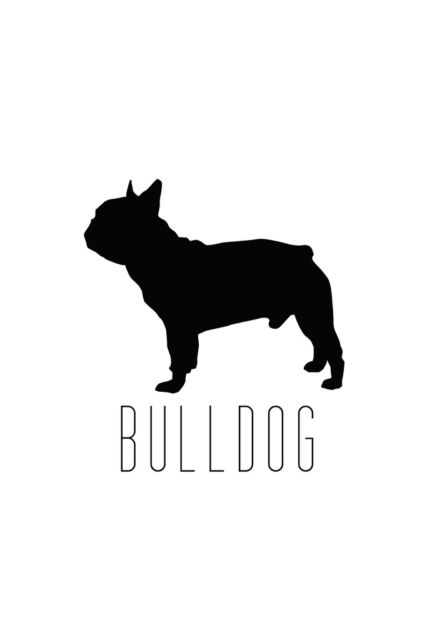 427x640 Dogs Bulldog Bull Breeds Classic Bully Performance Silhouette