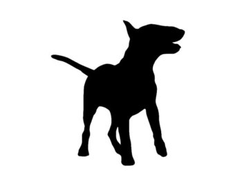 340x270 Jack Russell Terrier V1 Dog Breed Silhouette By Stickemupdecalsaz