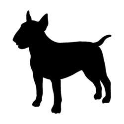250x250 Stickers Tagged Dog Bull Terrier Barking Bullies