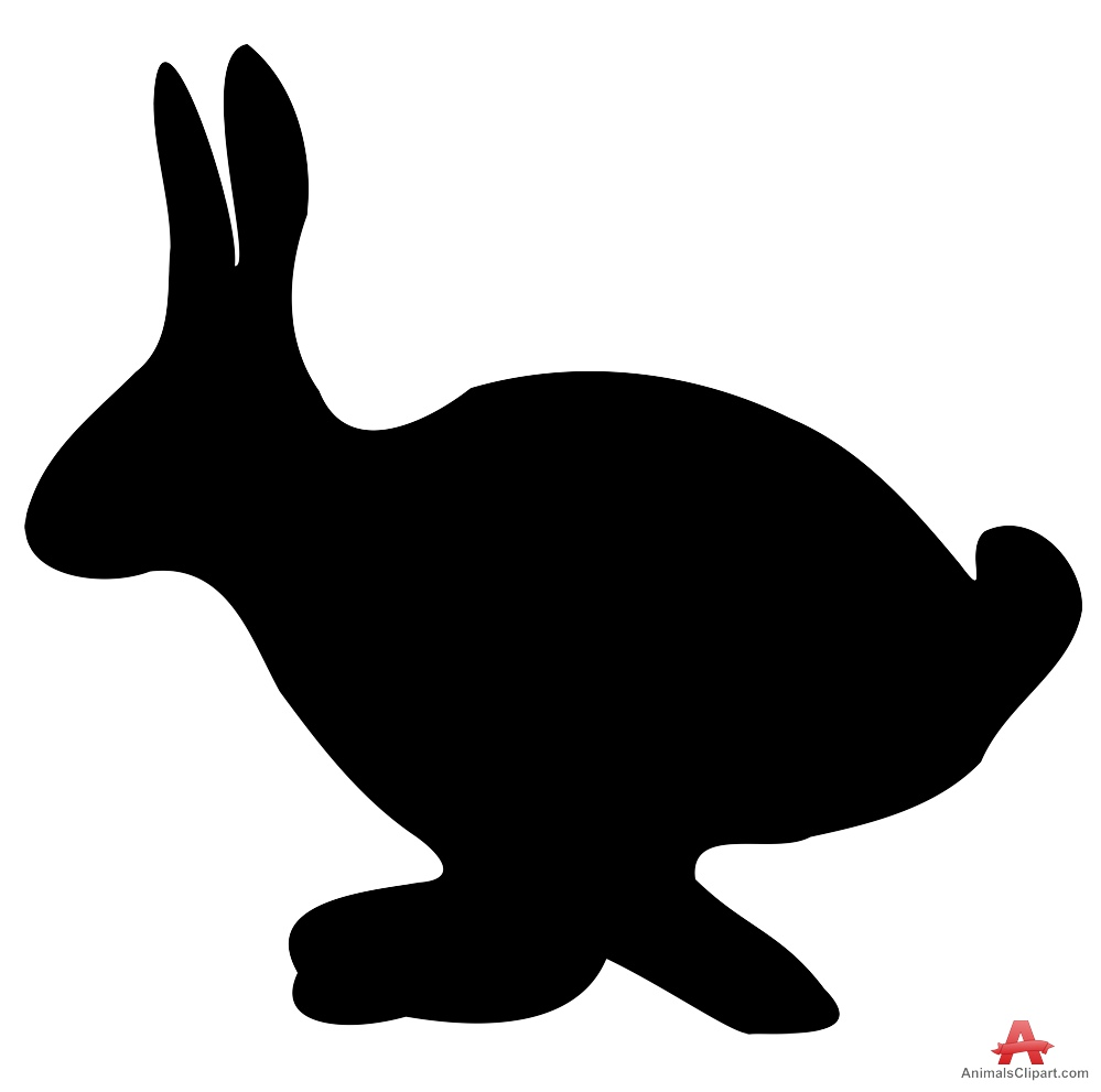 999x991 Silhouette Of Bunny Rabbit
