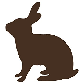 355x355 Rabbit Silhouette