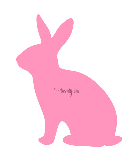 550x688 Free Bunny Printables