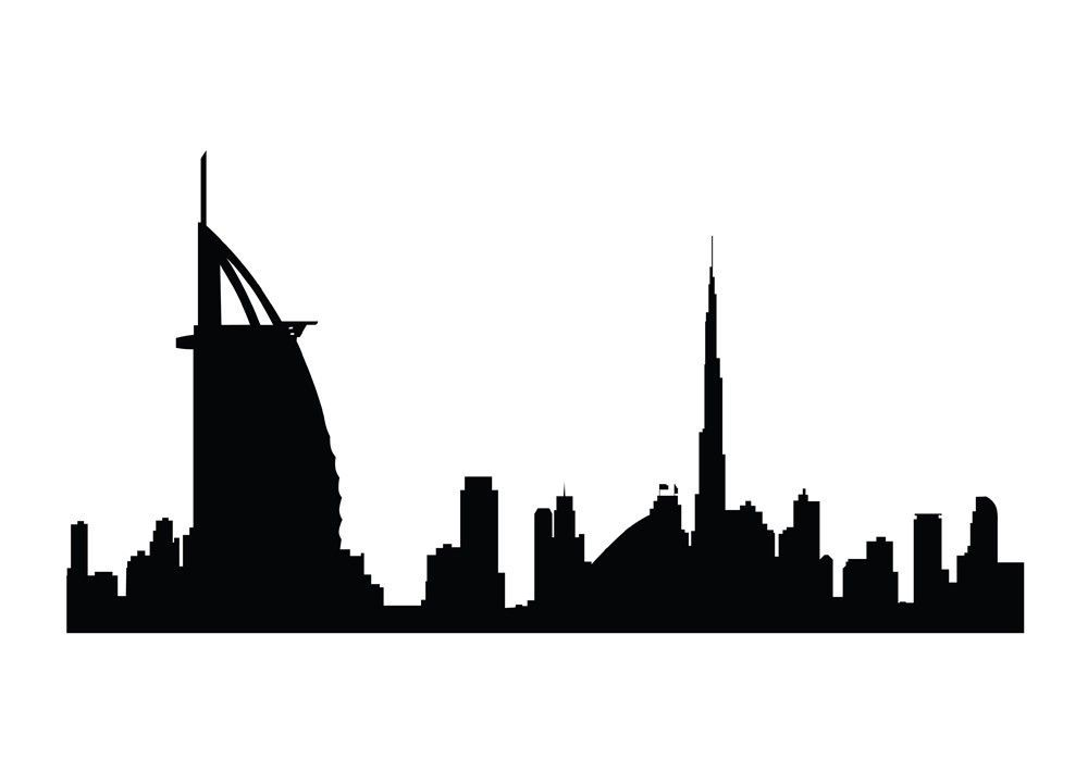 1000x709 Dubai Skyline Wallpapers Group