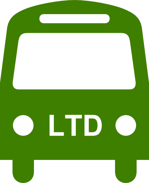 486x596 Green Ltd Bus Silhouette Clip Art
