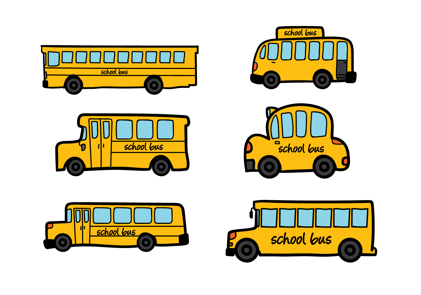 1400x980 School Bus Vector Like School Buses, School