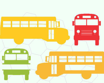 340x270 Silhouette School Bus Clipart, Explore Pictures