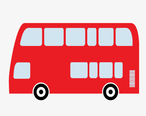 508x404 Bus Silhouette, Hand Painted, Bus Png And Psd File For Free Download