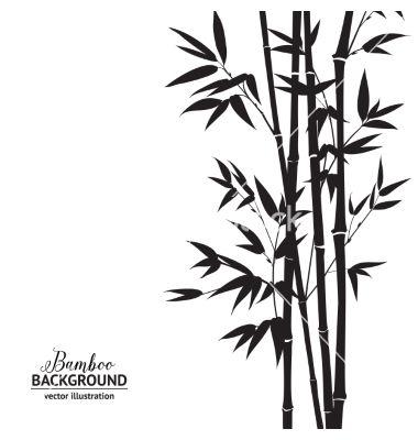 380x400 Bamboo Bush Vector By Kotkoa