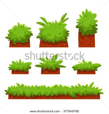 450x470 Grass Clipart Bush Grass