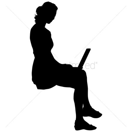 450x450 Free Silhouette Lady Stock Vectors Stockunlimited