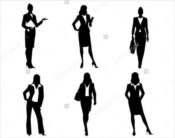600x475 Woman Silhouette