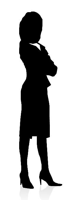 268x675 Gallery Business Woman And Man Silhouette