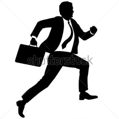 380x380 Man With Briefcase Clipart Collection