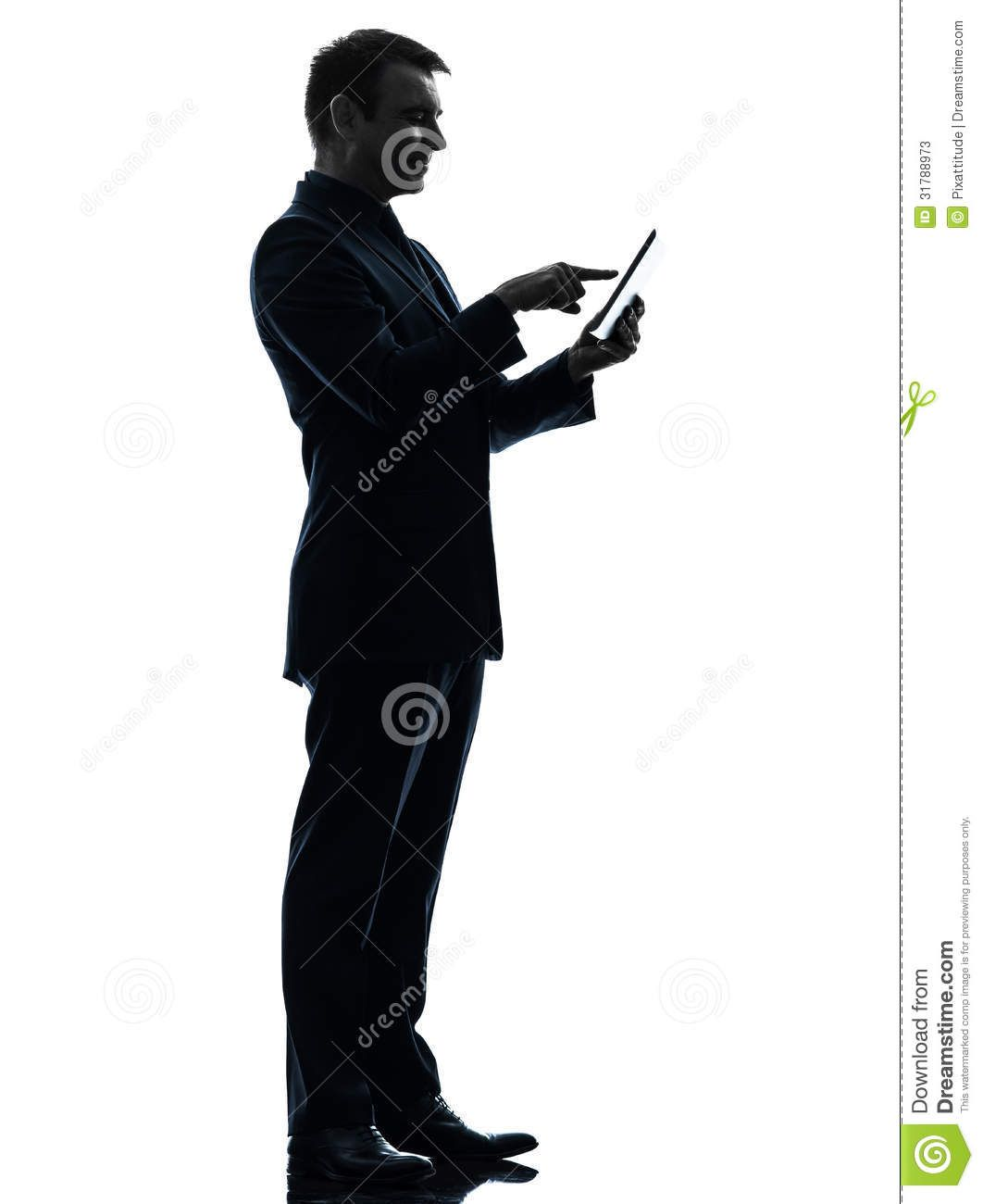 1062x1300 Business Man Using Tablet Peoplesilhouettes