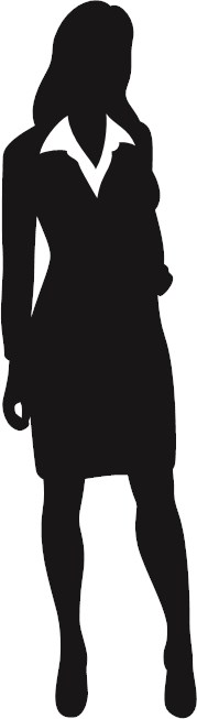 179x653 Business People Silhouettes Included Shapes Shapechef