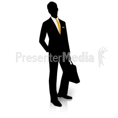 400x400 Businessman Silhouette Pocket