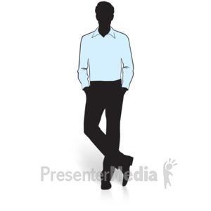 300x300 Businessman Silhouette Walking
