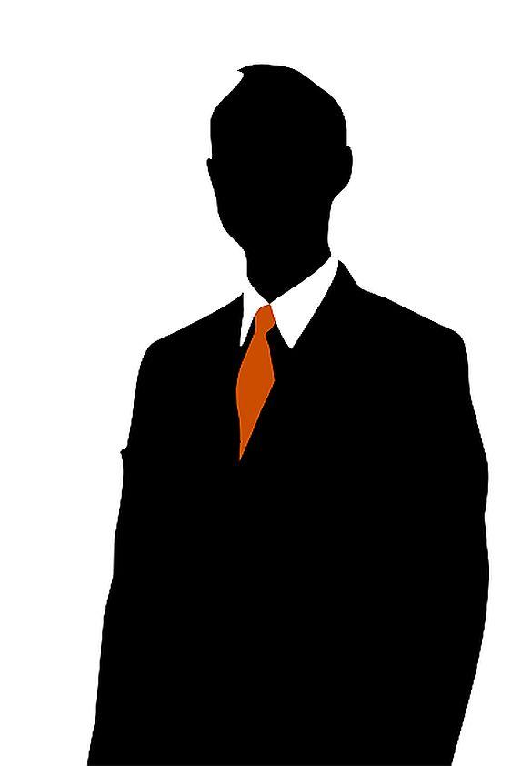 562x842 Businessman Silhouette
