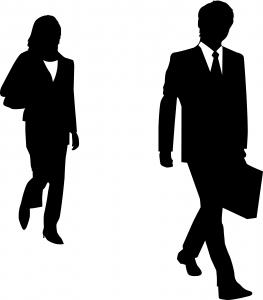263x300 Businessman Silhouette Photo Free Download