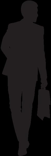 197x600 Businessman Silhouette Png Clip Art Sagome Stencyl