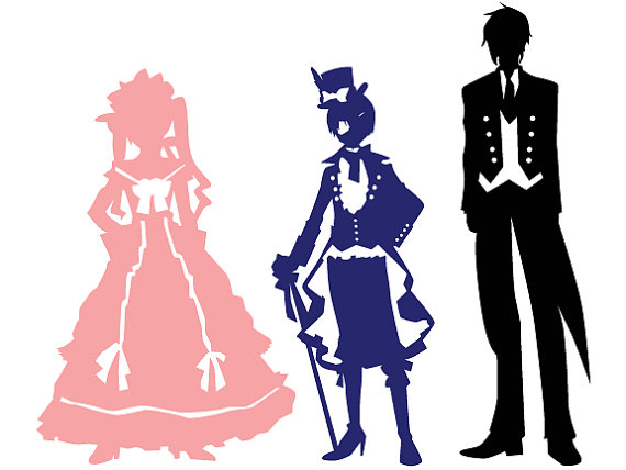 570x428 Kuroshitsuji Black Butler Sebastian And Ciel Digital Download