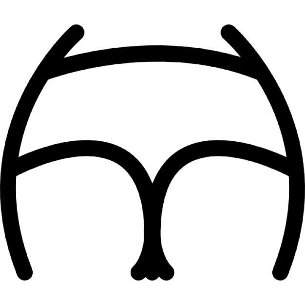 626x626 Butt wearing underwear Icons Free Download