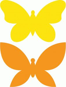 228x300 153 Best Butterflies Silhouettes Graphics Images