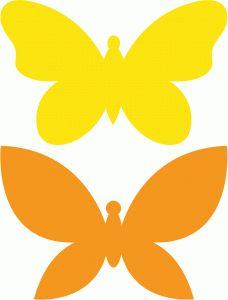 Butterfly Silhouette Clip Art