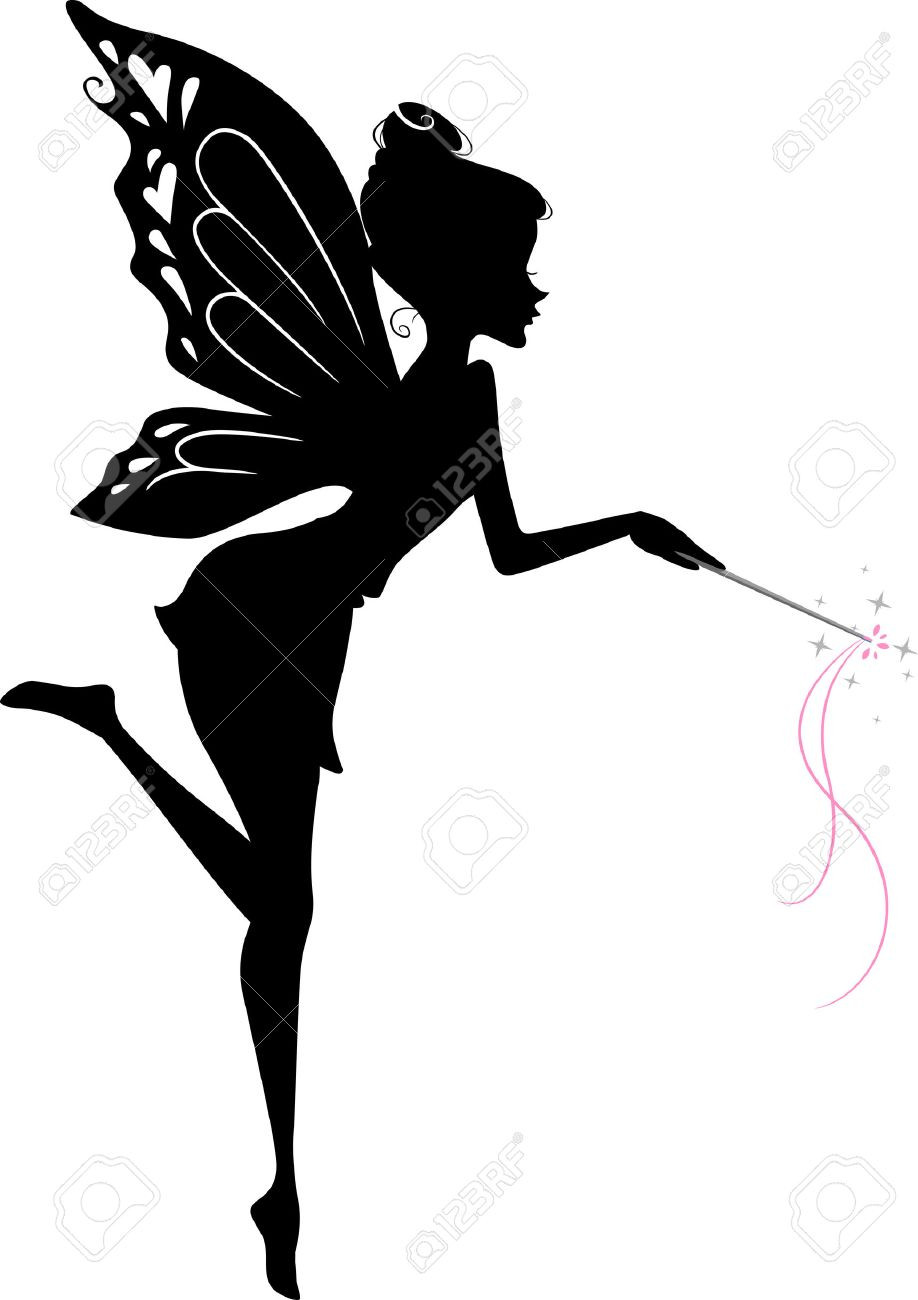 918x1300 Fairy Butterfly Silhouette Png Clip Art Image Png M 1472580948