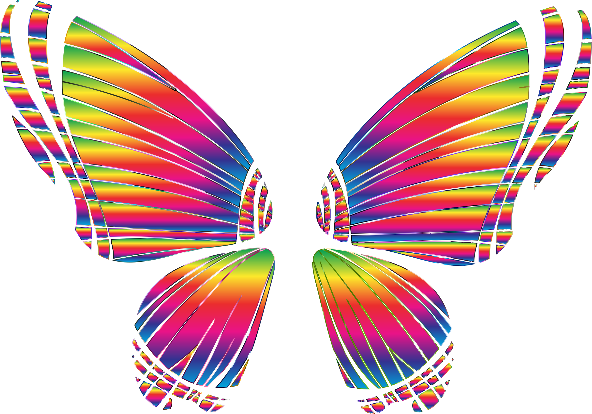 2408x1686 Rgb Butterfly Silhouette 10 8 No Background Bclipart