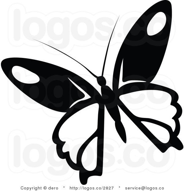 600x620 Black Butterfly Silhouette Free Clip Art Xmzhsd Image Clip Art