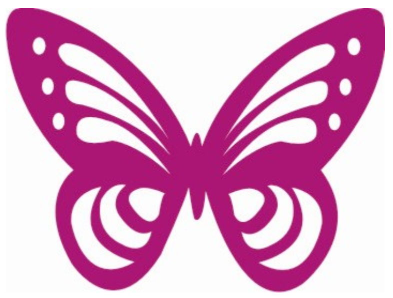 786x597 Butterfly Clipart Silhouette Color Collection