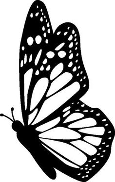 236x375 Free Butterfly Printable Amp How To Use With Silhouette Software