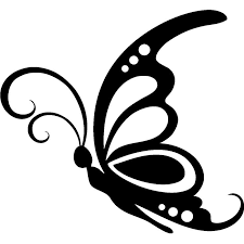 225x225 Image Result For Butterfly Clipart Black And White