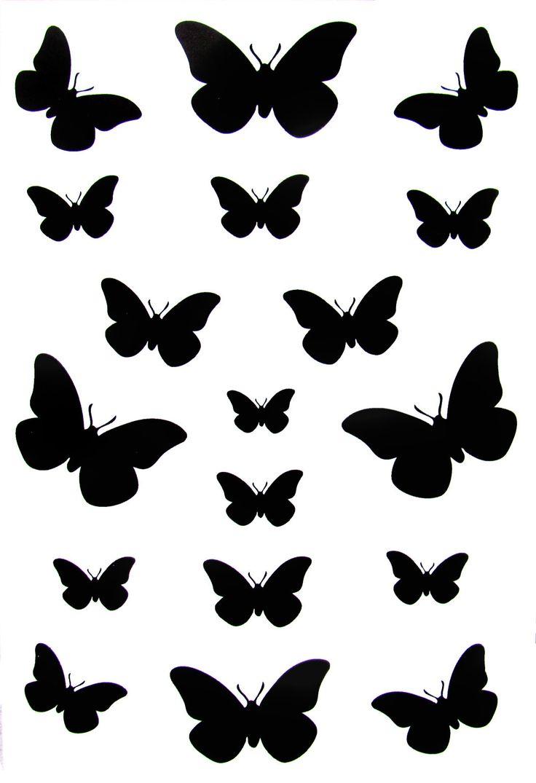 736x1075 Drawn Butterfly Tiny